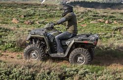 Single Polaris Sportsman 450